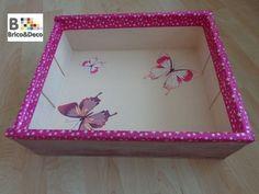 Transformar una caja de vino en una bandeja para el Día de la Madre (parte I)