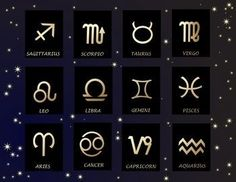 star sign images- very clear