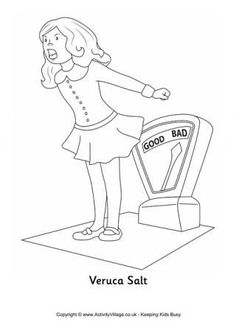 willy wonka coloring sheets - Google Search