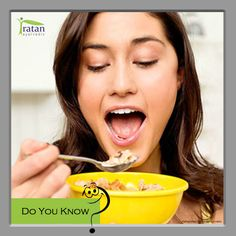 #DoYouKnow: Breakfast is the most important meal of the day because it feeds your body and mind with the necessary nutrients and energy to function throughout the day. Eating breakfast regularly will also help keep weight off because it gets your metabolism going.