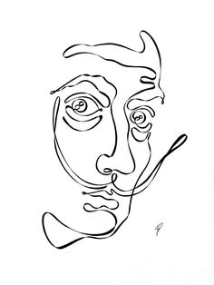 I Drew These Illustrations Using One Continuous Line | Bored Panda