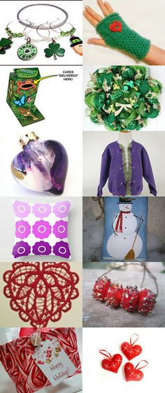 Green to Blue to Purple to Red by Margaret Maringgele on Etsy--Pinned with TreasuryPin.com
