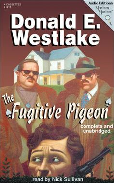 2001 Nick Sullivan - Donald E. Westlake: The Fugitive Pigeon (audiobook cassette) [Audio Partners 9781572702172] cover artwork by Wilson McLean #albumcover