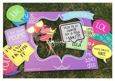 Letreros para fiesta de XV años www.taguinche.com