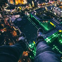 Las Vegas through the lens of MandoHundreds