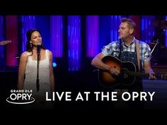 """Joey + Rory Feek perform the Townes Van Zandt classic """"If I Needed You"""" accompanied daughter Heidi live at the Grand Ole Opry in Nashville, TN, on August 9, ..."""