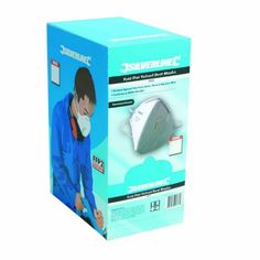 Silverline 633895 25 Piece Display Box of FFP3 Fold Flat Valved Dust Masks - http://www.cheaptohome.co.uk/silverline-633895-25-piece-display-box-of-ffp3-fold-flat-valved-dust-masks/