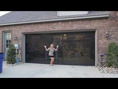 lifestyle garage door screens are a great way to screen in your garage without the expense of a motorized roll down screen garage screens pinterest