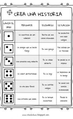 Spanish Worksheets, Preschool Worksheets, Speech Language Therapy, Speech And Language, Narrative Writing, Writing Prompts, Spanish Classroom Activities, Spanish Practice, Kids Writing