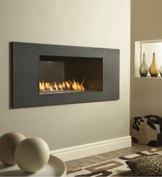 Verine Vertex XL Hole In The Wall Gas Fire
