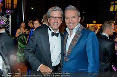 Charles SHAUGHNESSY, Alfons HAIDER  at the Dancer Against Cancer Ball photo ©Andreas Tischler