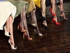 Hw to wear those lacy nylons/tights