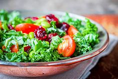 One way you can include nonstarchy vegetables in your day is to eat a salad for lunch and add some dark leafy greens.