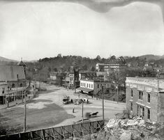 "Hot Springs, Arkansas, circa 1900. ""Seven Points.""Shorpy Historical Photo Archive :: Seven Points: 1900"