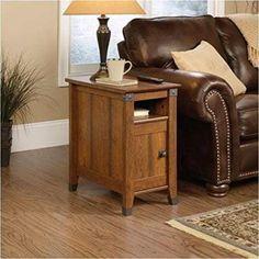 End Side Table Modern Furniture Coffee Lamp Storage Shelf Sofa Home Living Room #Sauder #Furniture