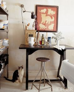 Fall Fashion 2013 at Home: Cats - ELLE DECOR