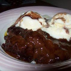 Cracker Barrel Chocolate Cobbler @keyingredient #chocolate