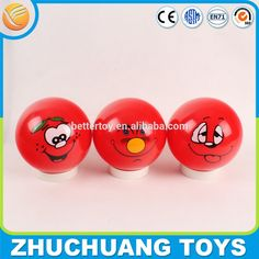 """Check out this product on Alibaba.com APP custom logo 4"""" inch hollow plastic bouncing balls"""