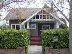 craftsman bungalow open gable front porch - Google Search