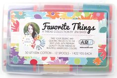 Image of  Favorite Things Aurifil Thread Collection Large Box