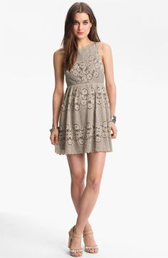 Free People 'Rocco' Cutout Lace Dress