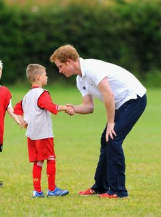 Prince Harry Visits Suffolk (3)