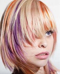 Vibrant Hair Highlights