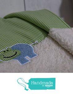 Babydecke - Plüschdecke - aus Vichykarostoff in grün und naturfarbigem Baumwollplüsch von der LittleBabyJo https://www.amazon.de/dp/B01MECW598/ref=hnd_sw_r_pi_dp_MOFoybKAPSG5K #handmadeatamazon