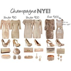 We should all wear champagne colors!!!!