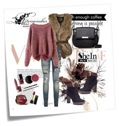 """Sweater"" by aida-1999 ❤ liked on Polyvore featuring Post-It, Polo Ralph Lauren and French Connection"