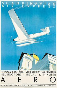 Mainos: Aero, 1934