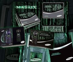 Packaging design for promotional phone featuring in the Matrix-Reloaded movie. #Marketing #MarketingMaterials #Branding #CorporateIdentity #PackagingDesign Visit us at: www.sodapopmedia.com