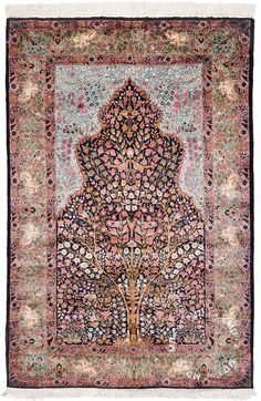Indian Kashmir, Pure Silk Antique Rug // Pinned by Dauphine Magazine x Castlefield - Curated by Castlefield Bridal & Branding Atelier and delivering the ultimate experience for the haute couture connoisseur! Visit www.dauphinemagazine.com, @dauphinemagazine on Instagram, and @dauphinemag on Pinterest • Visit Castlefield: www.castlefield.co and @ castlefieldco on Instagram / Luxury, fashion, weddings, bridal style, décor, travel, art, design, jewelry, photography, beauty, interiors…
