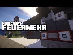 Minecraft Inspiration | Die Feuerwehr | ★HD★ - YouTube#Minecraft #PC #Xbox One #PS4 #Multiplayer #Survival #psn #playstation #Microsoft #Xbox #MC  #craft #modern #inspiration #buildings #house #street #stadt