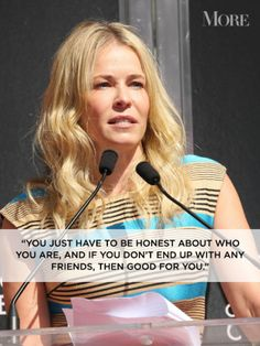 More Magazine's favorite quotes from Chelsea Handler