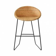 The Eko Kitchen or Bar Stool is a perfect way to introduce some natural textures and fibres into your kitchen, bringing a warmth and homely feel to your decor. High Bar Stools, Counter Stools, Home Reno, Interior Decorating, New Homes, Dining, Bar Kitchen, Table, House
