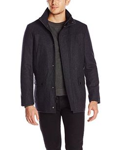 6df82e49b9 Kenneth Cole REACTION Men s Classic Barn Coat
