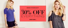 Dorothy Perkins 30% off everything offer Web Banner #Web #Banner #Digital #Online #Marketing #Fashion