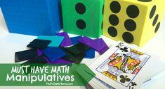 Top 5 Necessary Homeschool Math Manipulatives