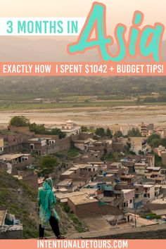 How much does 3 months of backpacking Asia cost? - Planning to backpack/ budget travel South Asia? Here's exactly how much 3 months of travel cost i - Budget Travel, Travel Tips, Europe Budget, Travel Books, Travel Journals, Travel Ideas, Solo Travel, Travel Usa, Pakistan
