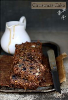 Christmas Fruit Cake with Garam Masala