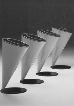 Kartell Wastepaper Basket system designed by Angelo Cortesi