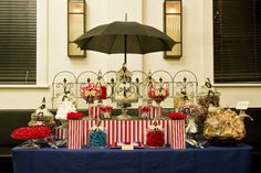 Let's go Fly a Kite: Mary Poppins Treat Table