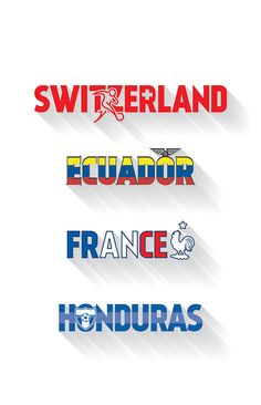 32 Qualifiers of Brazil 2014 on Behance