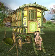 Gypsy caravan, just beautiful