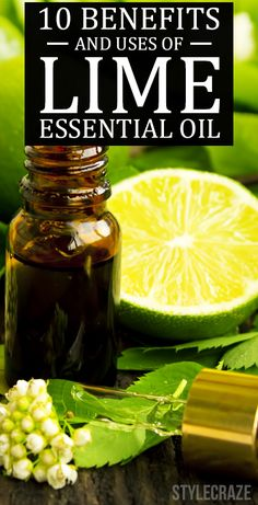 Did you ever use lime essential oil? Are you aware of its benefits? If there is any oil that is crammed with antioxidant properties, it is lime essential oil! And guess what, the benefits it has are so many!