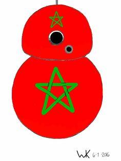 BB8 droid morocco