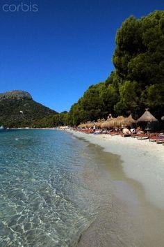 Playa Formentor, Cap de Formentor, Mallorca, Balearic Islands, Spain.