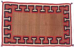 vintage navajo saddle blanket as rug