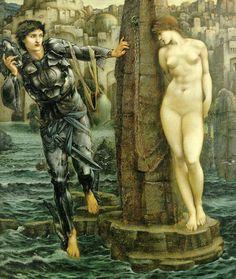 The Rock of Doom (1885) by Edward Burne-Jones.